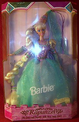 Mattel Childrens Collector Series Barbie Doll as Rapunzel First Edition MIB NRFB