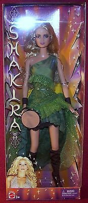 Mattel Award Winning International Super Star Shakira Tamborine Barbie NRFB