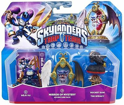Skylanders Trap Team Adventure Level Pack Mirror of Mystery New and Sealed