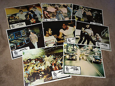 AMERICAN GRAFFITI 1973 Movie Poster Lobby Cards George Lucas Hot Rods Drive In