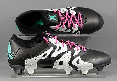 Adidas (S78175) X 15.1 FG/AG adults football boots - Black/White