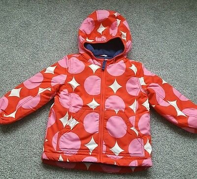 MINI BODEN GIRLS FLEECE LINED Winter SNOW JACKET COAT. size 2-3 years. Brand new