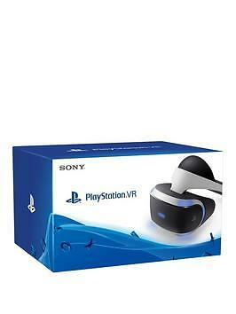 Sony PlayStation VR Headset PS Move Handsets x 2,Camera and 4 Games & Demo Disc