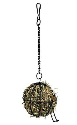 New - Trixie Food Ball For Small Pets Hay Or Grass - 2 Sizes