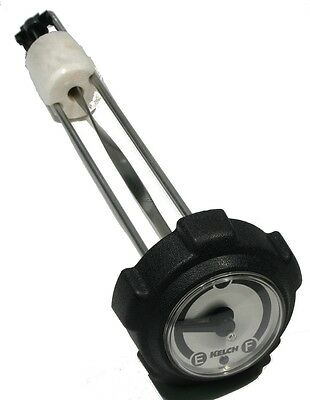 Polaris Indy Lite 340, 1993-1998, Gas Cap with Gauge - GT, Deluxe, Touring