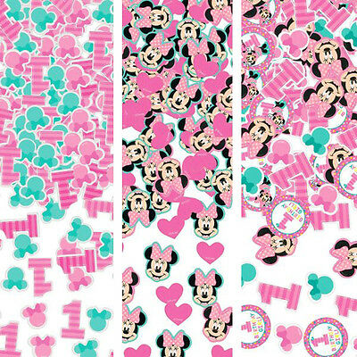 MINNIE MOUSE Fun to Be One CONFETTI VALUE PACK ~ 1st Birthday Party Supplies