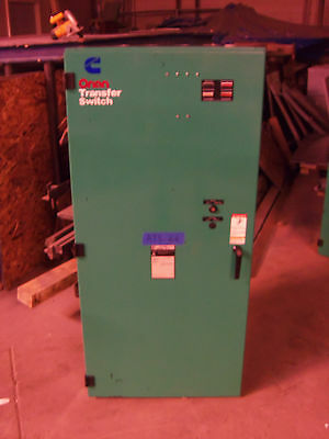 Cummings 600 AMP AUTOMATIC TRANSFER SWITCH 3 POLE ATS 480V 277v 3 phase 4 pole
