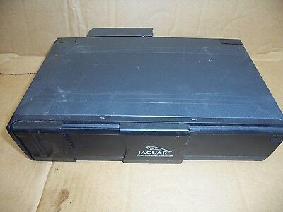 Jaguar X Type 2005-2009 6 Disc Cd Changer Unit 1X43-18C830-Ac