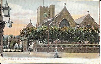 Early  Postcard  - St Peters Church,  Isle Of Thanet