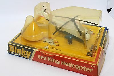 Dinky No 724 Sea King Helicopter - England - Meccano