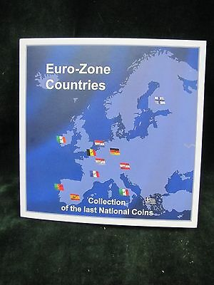 Euro-Zone Countries Collection of the Last National Coins