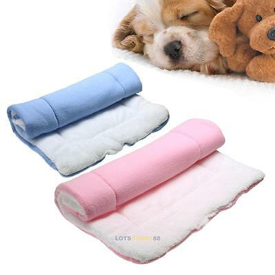 Small Medium Large Warm Pet Bed Cushion Mat Pad Dog Puppy Cat Kennel Soft House