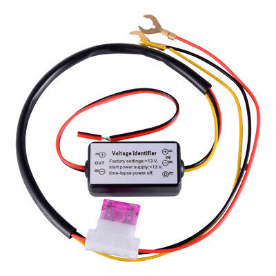 12V Daytime Running LED Light DRL Relay Harness Auto On/Off Switch Control MA945