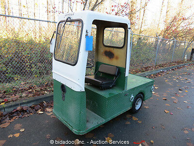 Taylor Dunn C4-32 Electric Industrial Utility Golf Cart Truck Flatbed Tractor