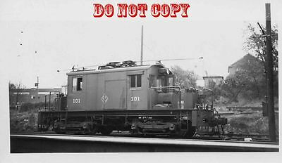 6G711 Rp 1949 Y&s Youngstown & Southeastern Railroad Frt Motor #101 Youngstown