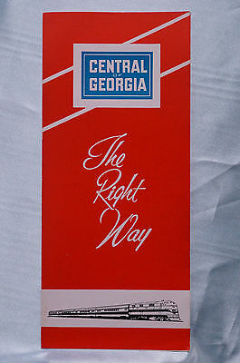 Central of Georgia - The Right Way - Brochure