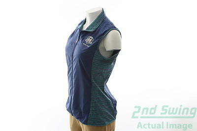New Womens Adidas 2016 Ryder Cup Rangewear Wind Vest X-Large XL Purple MSRP $75