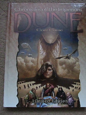 Dune Chronicles Of The Imperium Original No Reprint Role Play Game Hb Hc Rpg Vgc