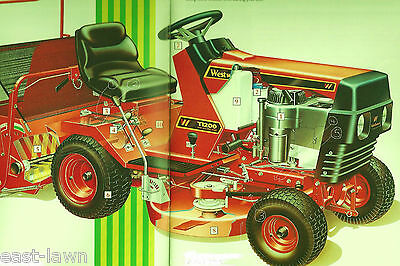 FIVE BELT SET Westwood T1200 S1100 Ride on Tractor Mower, all 5 belts to service