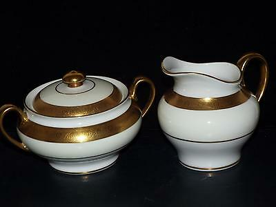 Minton Bone China BUCKINGHAM K159 COVERED SUGAR & CREAM 1st Qual NEW With TAGS