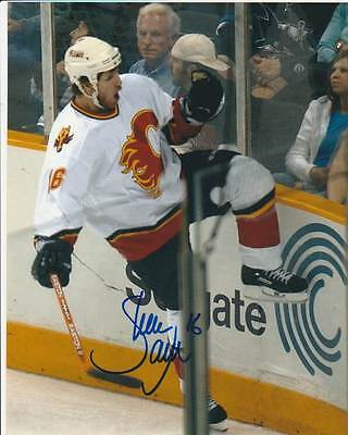 SHEAN DONOVAN SIGNED CALGARY FLAMES 8x10 PHOTO #3 Autograph