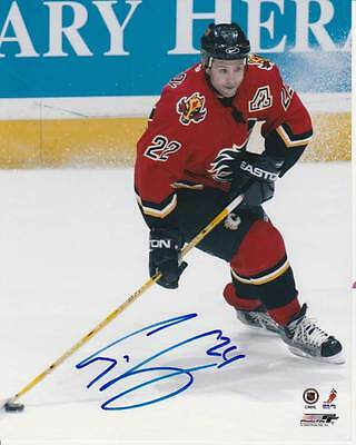 CRAIG CONROY SIGNED CALGARY FLAMES 8x10 PHOTO #4 Autograph