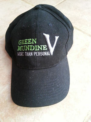 Danny Green  V Mundine Embroidered  Black Cap  FREE SHIPPING + CAN HOLDER