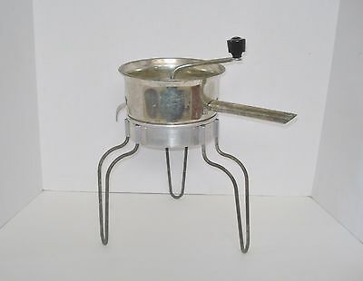 Foley Manufacturing USA Vintage Food Mill Canning Strainer Potato Masher Ricer