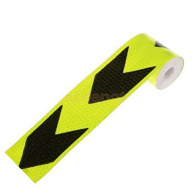 3M Night Reflective Safety Warning Conspicuity Tape Strip Arrow Sticker