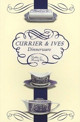 Currier & Ives Dinnerware Collector Reference  - Royal China Co