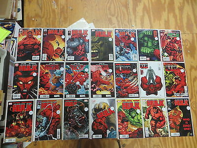 Hulk 29 Issue Comic Run 1-44 Marvel Loeb 1St Red Hulk