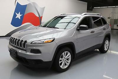 2015 Jeep Cherokee Sport Sport Utility 4-Door 2015 JEEP CHEROKEE SPORT UCONNECT BLUETOOTH ALLOYS 13K #657600 Texas Direct Auto