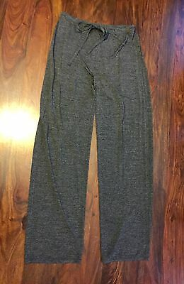 Max Studio Pant Medium Casual Cinch Waist Trouser Traveler Jogger Wide Leg Gray