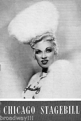 """Mae West """"CATHERINE WAS GREAT"""" Ray Bourbon / Michael Todd 1945 Chicago Playbill"""