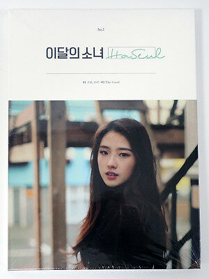 monthly girl LOONA - HaSeul (Single Album) CD+Photobook+Photocard+Poster