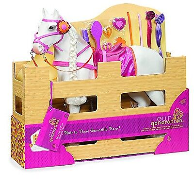 Our Generation Dolls Camarillo Hair Play Horse for 18-Inch Dolls