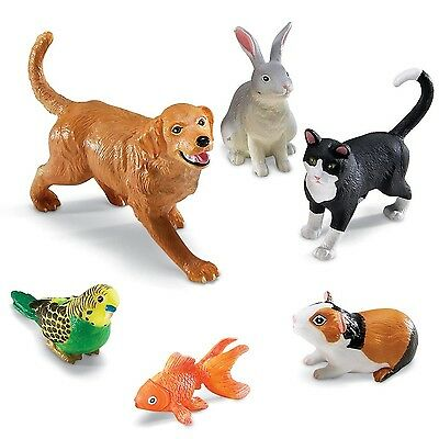 Learning Resources Jumbo Animals Domestic Pets