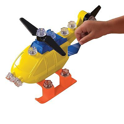 Educational Insights Design and Drill Power Play Vehicles Helicopter