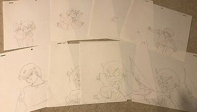 Anime Genga not Cel Urusei Yatsura 8 pages #93