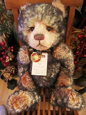 *hubble* Retired -Ltd Edition- Charlie Bear-With Bag - Isabelle Lee