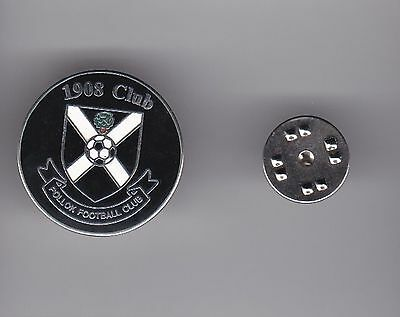 Pollok FC  (Scottish Junior League)  - lapel badge butterfly fitting