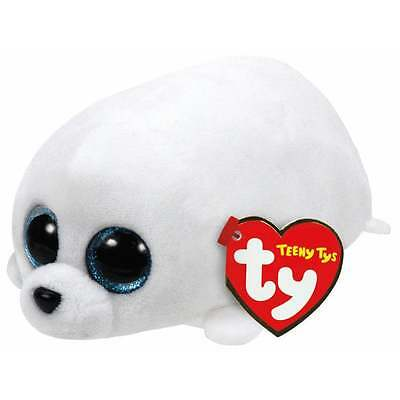 Teeny Ty - Slippery Beanie Babies Seal Soft Toy TY42136 New with tags