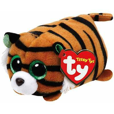 Teeny Ty - Tiggy Beanie Babies Tiger Soft Toy TY42137 New with tags