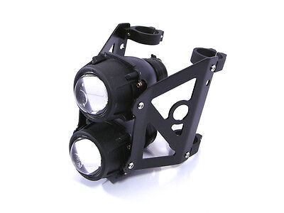 Streetfighter Projector Motorbike Trike Dual Headlight Stacked Emarked 46/47mm
