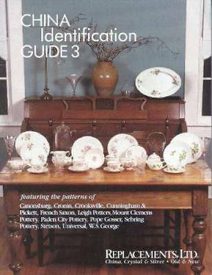 Replacements LTD China Pattern ID Guide Book 3