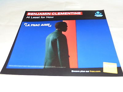 Benjamin Clementine - At Least For Now!french Record Store Promo Adv / Display
