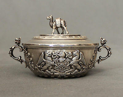 19th Century Silver Circular Lidded Bowl The Grocers Company