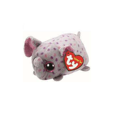 Teeny Ty - Trunks Beanie Babies Elephant Soft Toy TY42169 New with tags