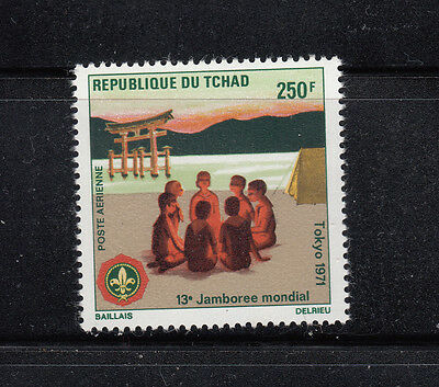 Chad 1971 Boy Scout Sc C83 Complete mint never hinged