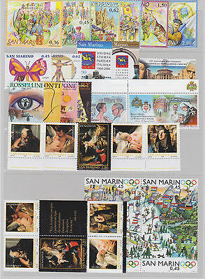 SAN MARINO 2006 COMPLETE YEARSET MNH - Année complete / G79109 / B3